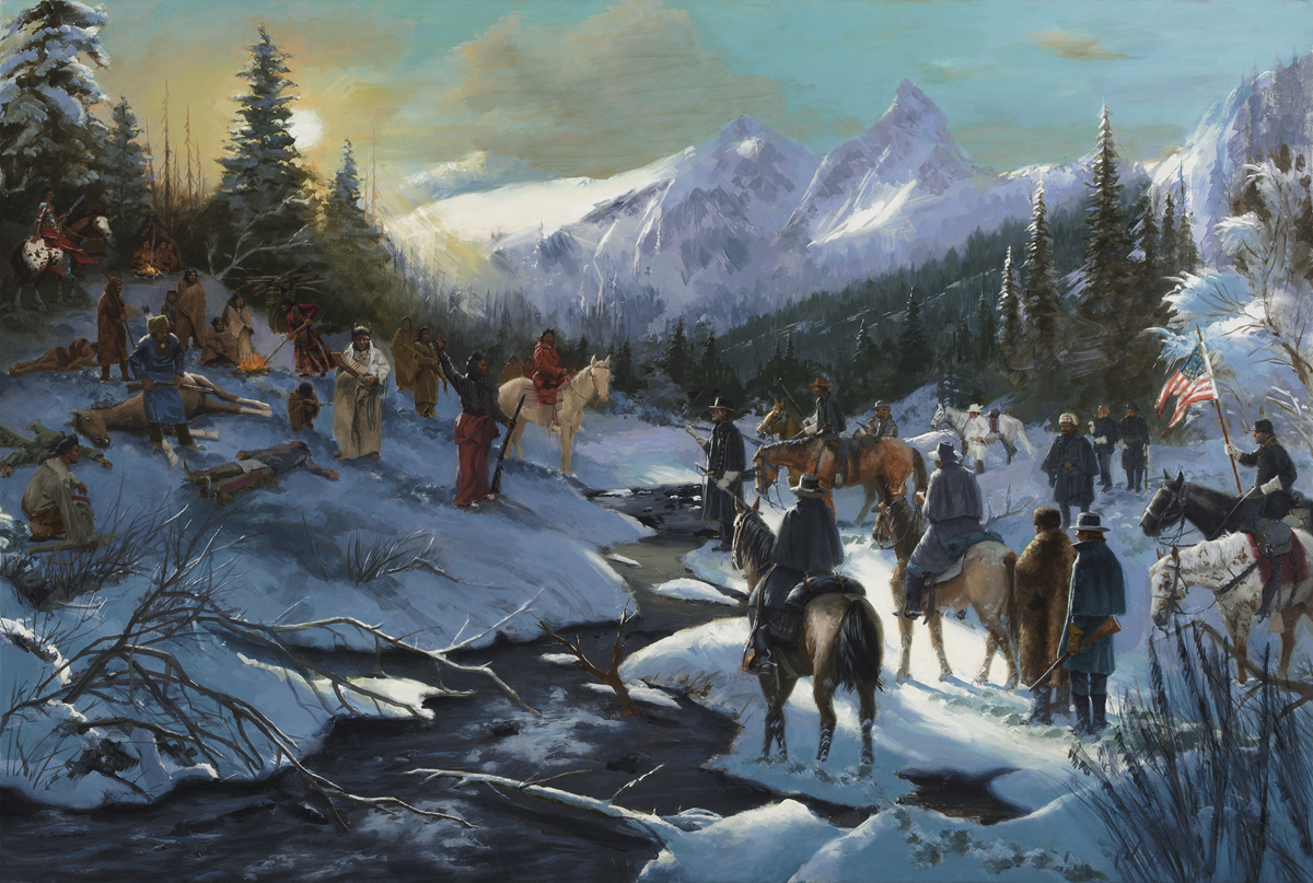 I Will Fight No More Forever, Chief Joseph Surrenders