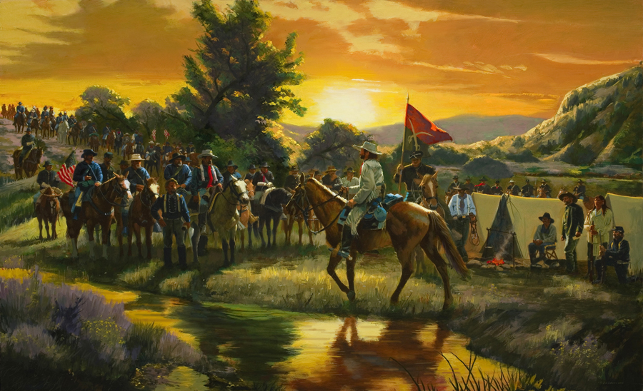 Orders from Colonel Custer, the Fateful Morning