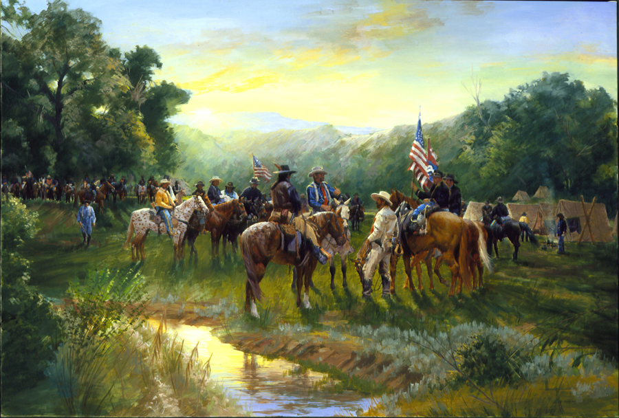Sunrise, June 25th, 1876