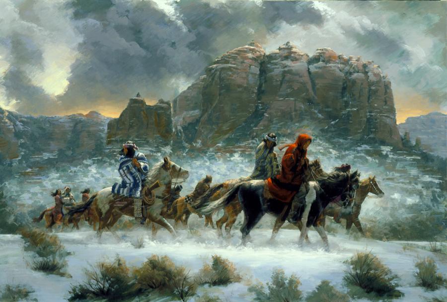 Apache Winter